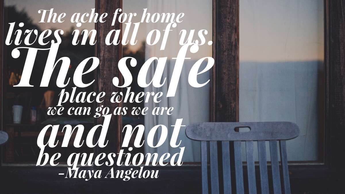 The ache for home lives in all of us.