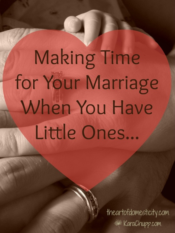 Making Time for Marriage