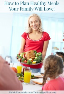 How to Plan Healthy Meals Vertical Hero Image